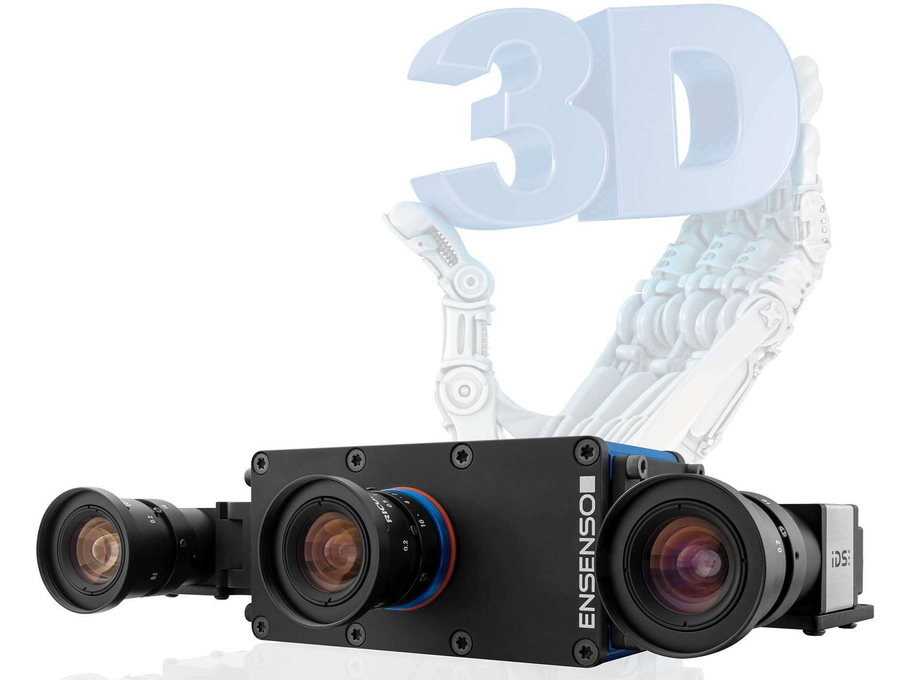 3D vision: EnsensoSDK speeds up processes through GPU-based image processing