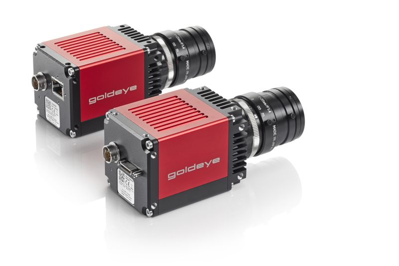 Goldeye cameras are available with either GigE Vision or Camera Link Interface