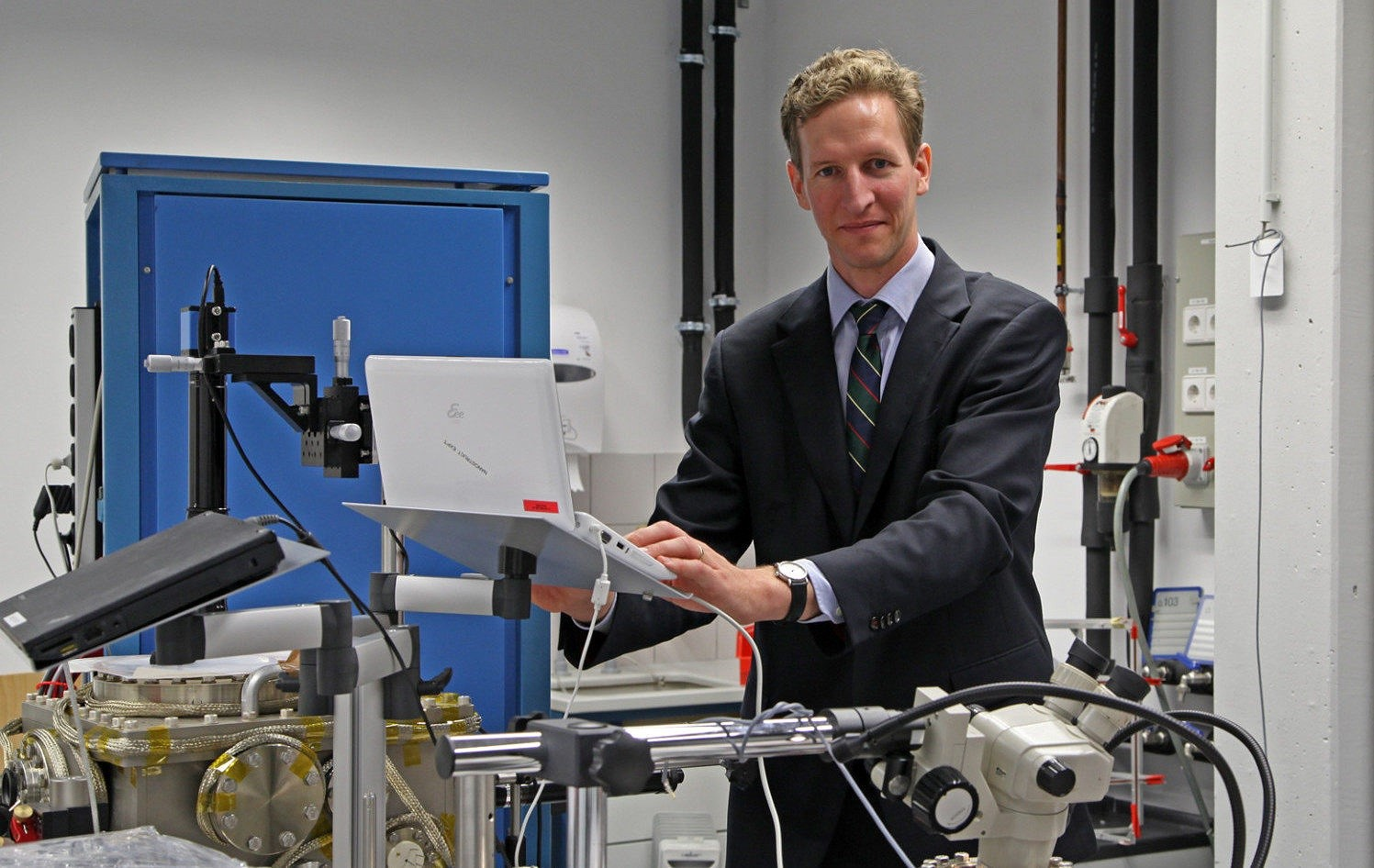 Prof. Dr. Peter Hommelhoff, Chair of Laser Physics at FAU